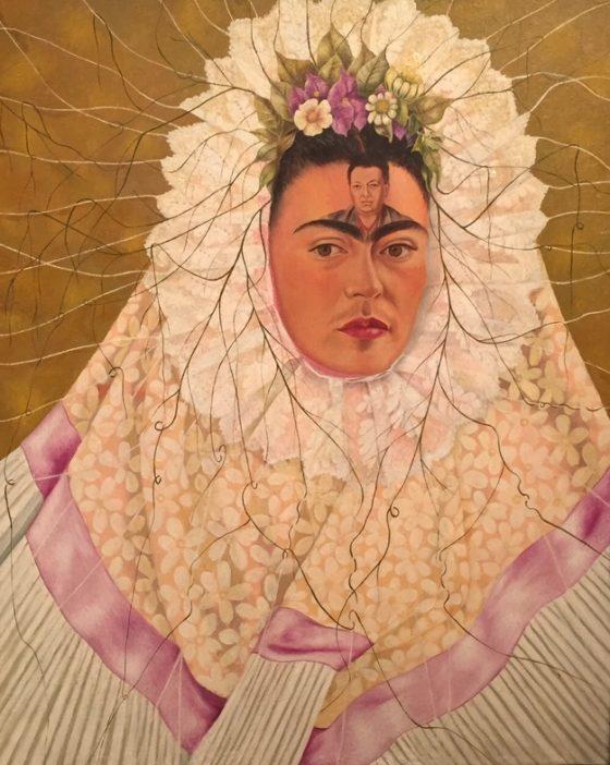 Self-Portrait as a Tehuana (Diego on My Mind) 1943