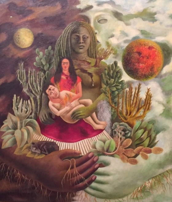 The love embrace of the universe, the Earth (Mexico), Diego, me and Senor Xolotl 1949