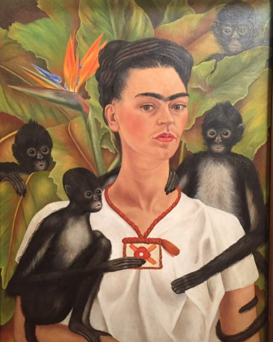 Self Portrait with Monkey 1938