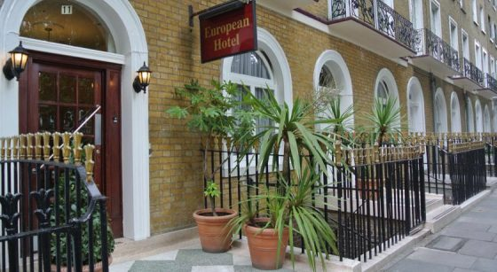 The European Hotel, Argyle Square - you can book with us.