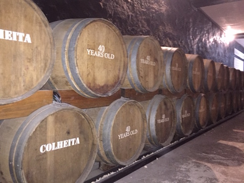 Premium port is aged for years in barrels made of seasoned oak from French forests.