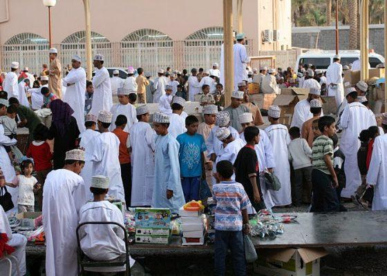 Oman - town square of Nizwa
