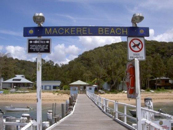 Mackeral Beach Wharf