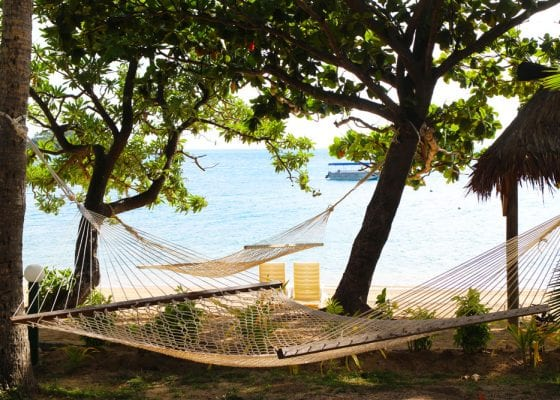 Malolo Island Resort, the view from my buré