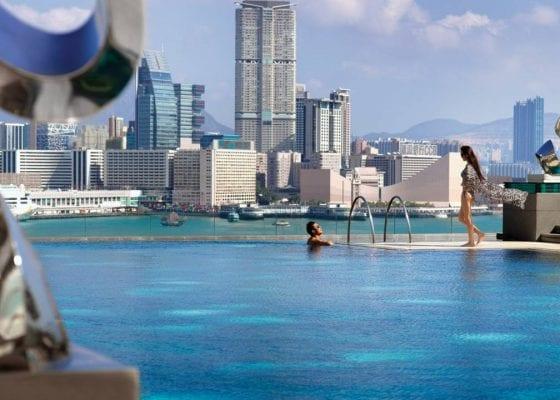 Hong Kong - Pool at the Four Seasons Hong Kong