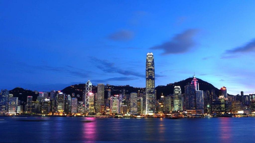 Hong Kong - Skyline from Four Season Hotel