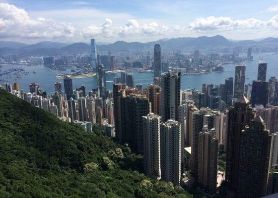 Hong Kong - View from Peak Tram