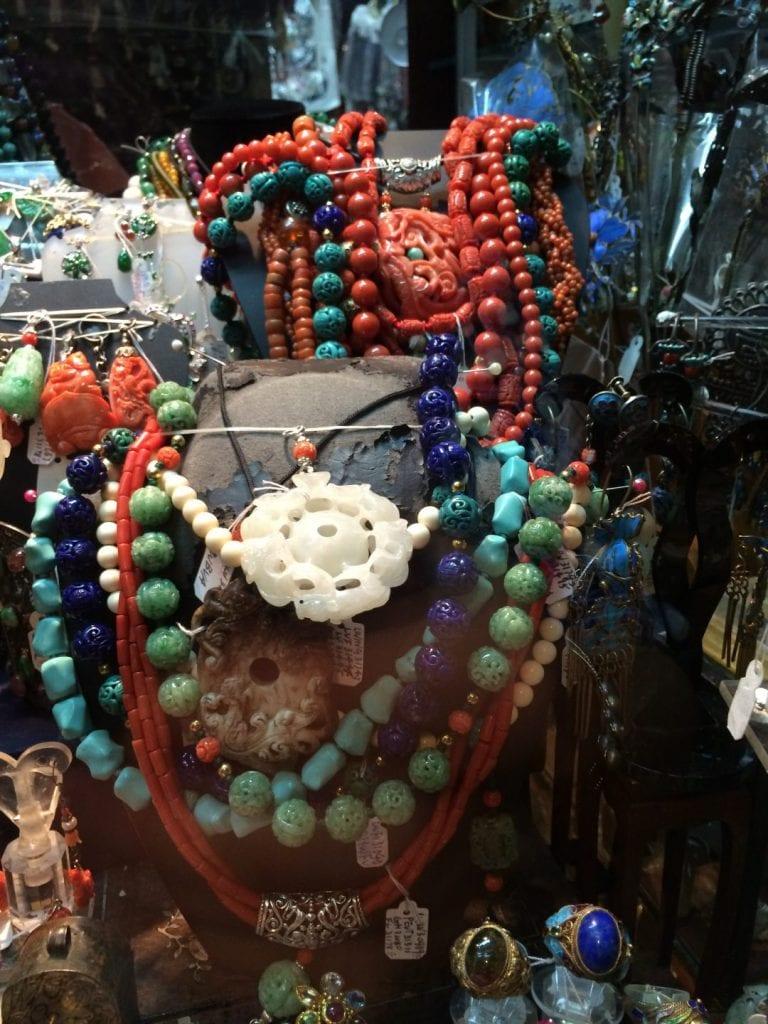 Hong Kong - Jade shopping