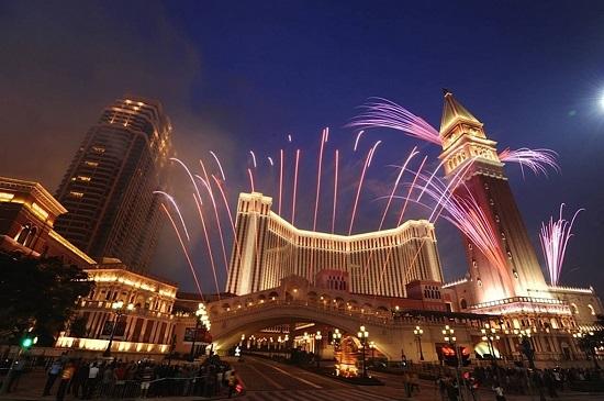 Macau - Cotai fireworks