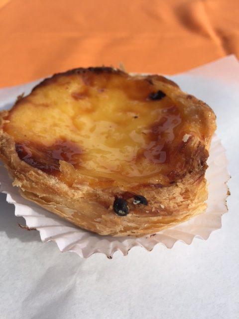Nata, (Custard tart)
