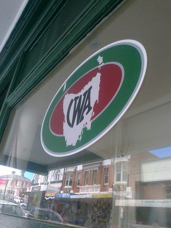 CWA Shop Hobart