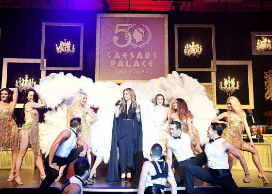 Jennifer Lopez - Caesars Palace 50th Anniversary Gala