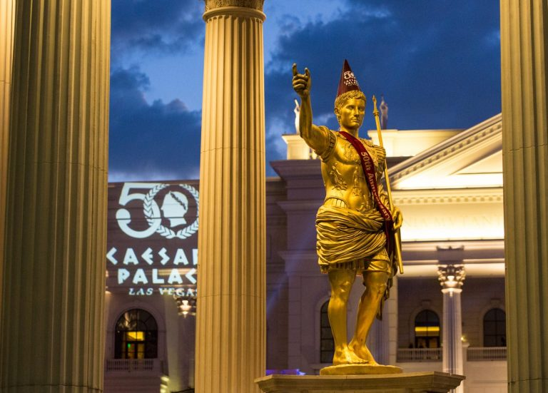 Caesars Palace 50th anniversary gala