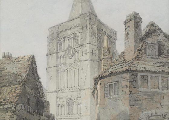 Joseph Mallord William Turner St Mary's Church Dover