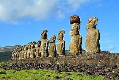 Rapa Hui, Easter Island, Moai
