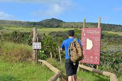 Rapa Hui, Easter Island, Hikes