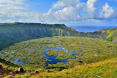 Rapa Hui, Easter Island, Volcanoes