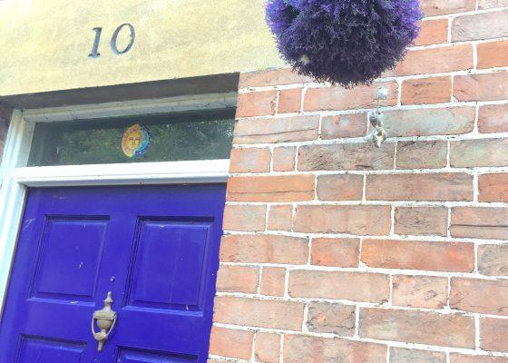 Glastonbury Doorway