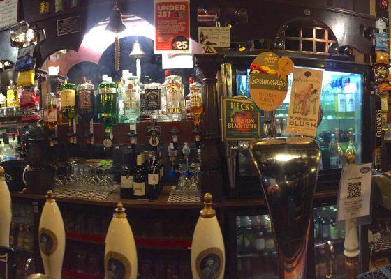 Glastonbury Old Pub Bar