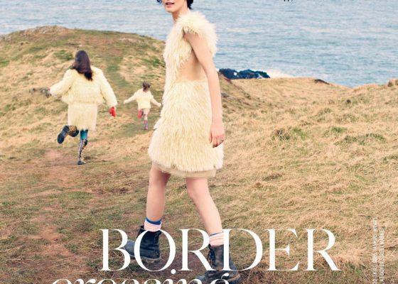 Stella Tennant by Bay Garnett for UK Vogue