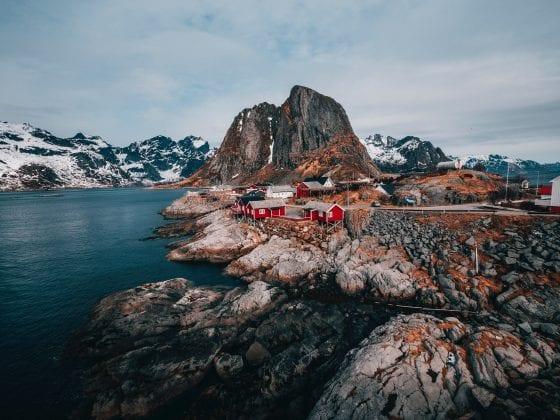 Lofoten Islands, Svolvær, Norway