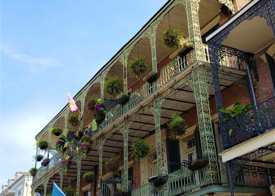 NOLA balcony, New Orleans