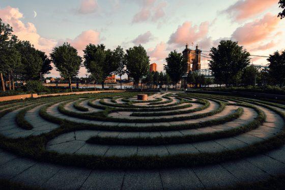 Labyrinth by Jake Blucker at Unsplash