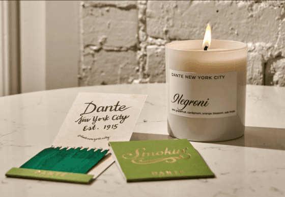 Negroni Candle by Dante