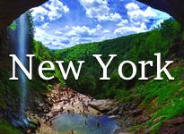 New York Haines Falls